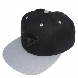 Diamond Supply Co 'Emblem' Snapback Cap -Black-