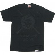 Diamond Supply Co 'Fillmore Lions' Tee -Black-