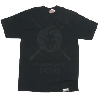 Diamond Supply Co 'Fillmore Lions' Tee -Black-