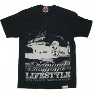 Diamond Supply Co 'Days of Glory' T Shirt -Black-