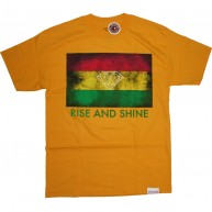 Diamond Supply Co 'Rise & Shine' Tee -Yellow-