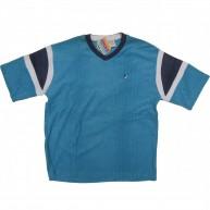 Fresh Jive 'Toweling S/S V-Neck -Lt. Blue-