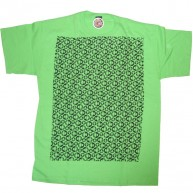 Special Needs 'Smiley Mono' Tee  -Lime-