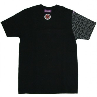 House 33 '33 Sleeve' T Shirt  -Black-