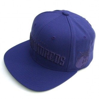 The Hundreds Player W11' Snapback Cap -Purple-