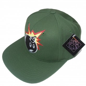 The Hundreds 'Adam' Snapback Cap -Green-