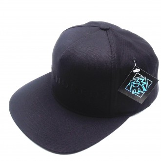 The Hundreds 'Basic' Snapback -Black-