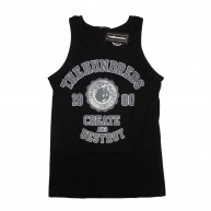 The Hundreds 'Create & Destroy' Vest Tank -Black-