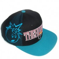 The Hundreds 'Draft' Snapback Cap -Black-