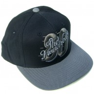 The Hundreds Eight Zero' Snap back Cap -Black-