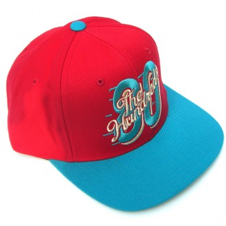 The Hundreds Eight Zero' Snap back Cap -Red-