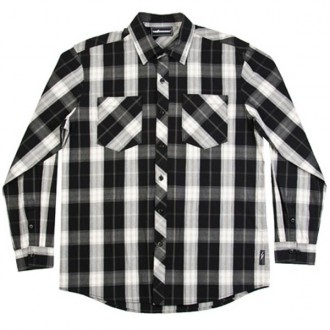 The Hundreds 'Elio' L/S Shirt -Black-