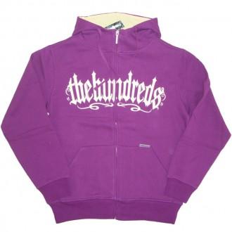 The Hundreds 'Firme' Hoodie -Purple-
