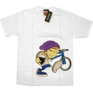 The Hundreds 'Fixie' T-shirt -White-