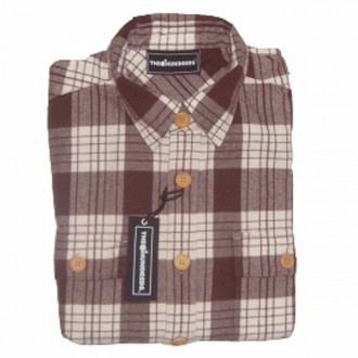 The Hundreds 'Griffith' L/S Shirt -Brown-