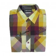 The Hundreds 'Havta Plaid' L/S Shirt -Dk Purple-