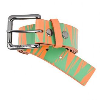 The Hundreds 'Jags' Lthr Belt -Orange-