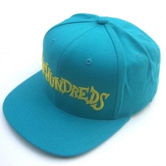 The Hundreds 'Monkeyface' Snap back Cap -Teal-