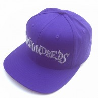 The Hundreds 'Monkeyface' Snap back Cap -Purple-