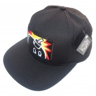 The Hundreds 'Patch Adam' Snap Back cap -Black-