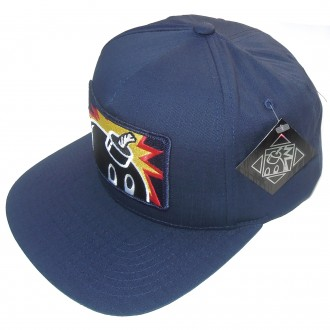 The Hundreds 'Patch Adam' Snap Back cap -Navy-