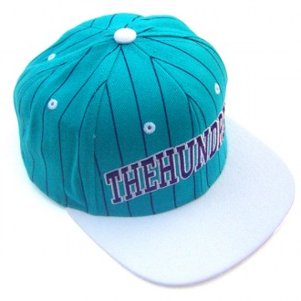 The Hundreds 'Pins' Snap back Cap -Teal-