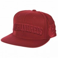 The Hundreds Player W11' Snapback Cap -Burgundy-