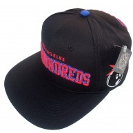 The Hundreds 'Player 12' Snap Back cap -Black-