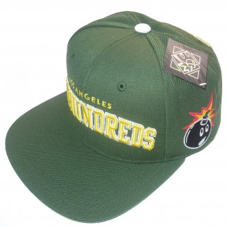 The Hundreds 'Player 12' Snap Back cap -Green-