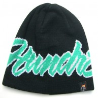 The Hundreds 'Script' Beanie -Black-