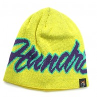 The Hundreds 'Script' Beanie -Yellow-