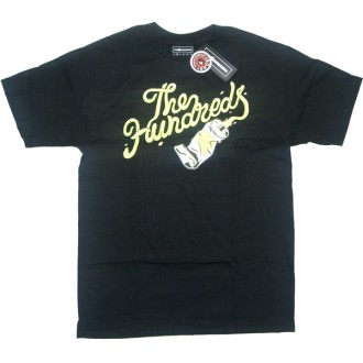 The Hundreds 'Squeeze' T-shirt -Black-