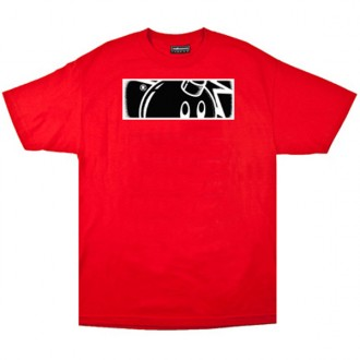 The Hundreds 'Stipple Rectangle' T-shirt -Red-