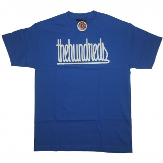 The Hundreds 'Stitched' T-Shirt -Blue-