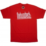 The Hundreds 'Stitched' T-Shirt -Red-