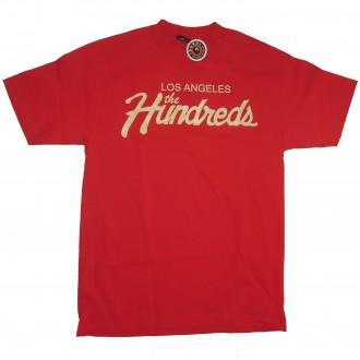The Hundreds 'Team 12' T-Shirt -Red-