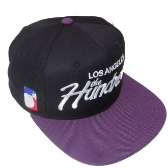 The Hundreds Team 12' Snapback Cap -Black-
