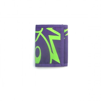 The Hundreds 'Adam Tri Fold aw10' Wallet -Purple-