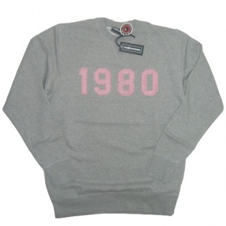 The Hundreds 'Yesterday' Sweat Shirt -Grey-