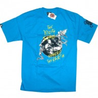 In4mation 'Angel Of Death' Tee  -Blue-