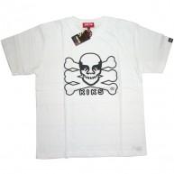 Kiks TYO x Obey 'Skull' T Shirt  -White-