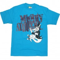 Mighty Healthy '90s Flyer'   -Blue-