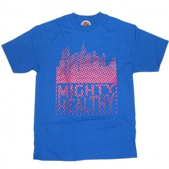Mighty Healthy 'City Scape 08'   -Blue-
