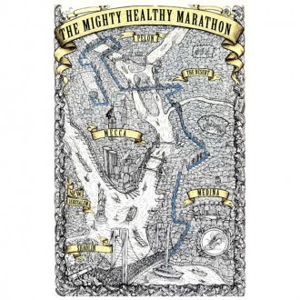 Mighty Healthy 'Marathon'   -White-