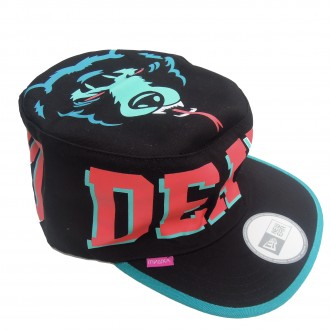 Mishka 'Death Adders' Painter Cap -Black-