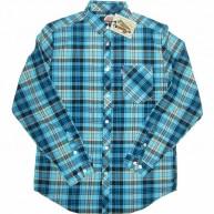 Mishka 'Aberdeen' L/S Shirt -Aqua-