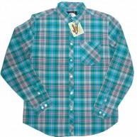 Mishka 'Aberdeen' L/S Shirt -Grey-