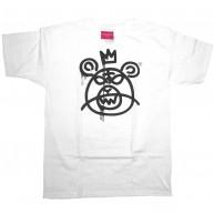 Mishka 'Bear Mop w11' T-Shirt -White/Blk-