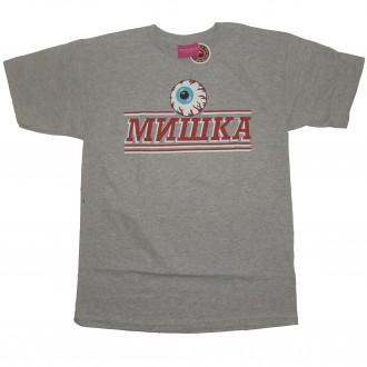 Mishka 'Cyrillic Pro' T-Shirt -Grey-