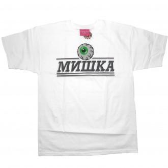 Mishka 'Cyrillic Pro' T-Shirt -White-